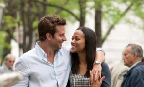 Bradley Cooper and Zoe Saldana in New Stills From The Words