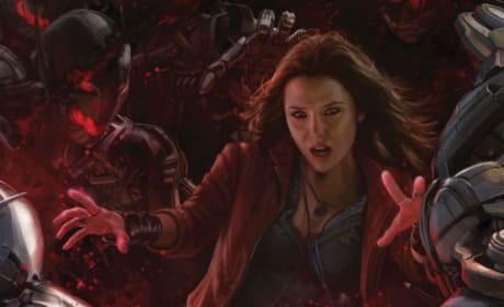 Avengers: Age of Ultron Scarlet Witch Concept Art Poster