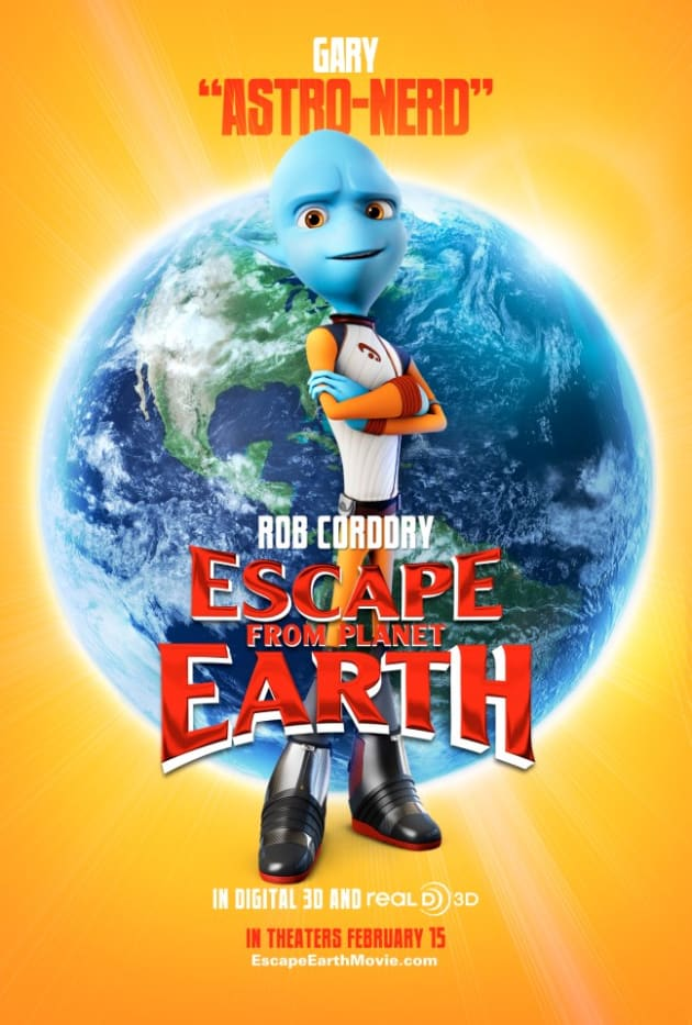 Escape From Planet Earth Gary Poster