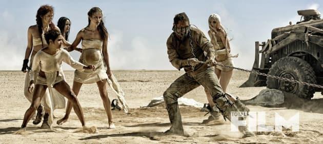 Mad Max Fury Road Tom Hardy Zoe Kravitz