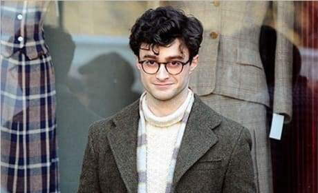 Daniel Radcliffe as Allen Ginsberg!