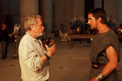 Ridley Scott Christian Bale Exodus: Gods and Kings