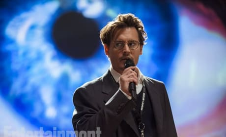 Transcendence Photos: First Look at Johnny Depp!
