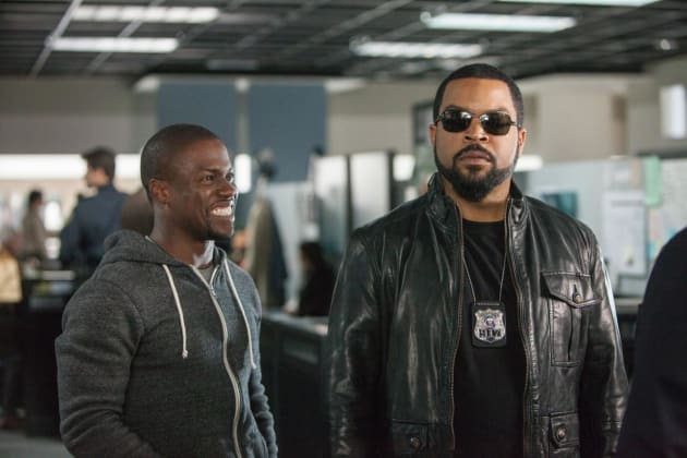 Ice Cube Kevin Hart Star In Ride Along