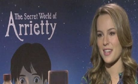 Secret World of Arrietty Exclusive: Bridgit Mendler Video Interview