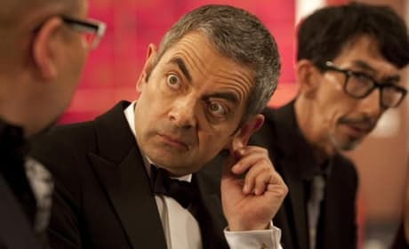 Johnny English Reborn: Rowan Atkinson's Comedic Chat