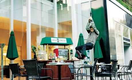 The Amazing Spider-Man Behind The Scenes Photo: Zipline