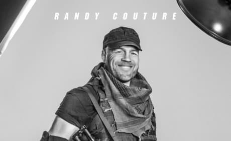 The Expendables 3 Randy Couture Poster