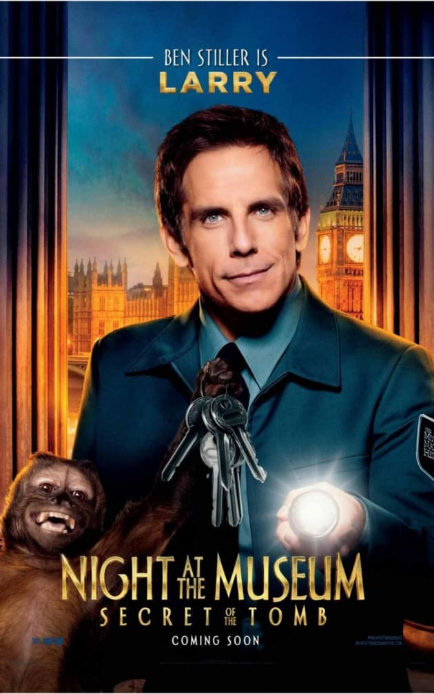 Night at the Museum: Secret of the Tomb Ben Stiller Poster