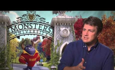 Monsters University: Nathan Fillion Talks Whedon Versus Animation
