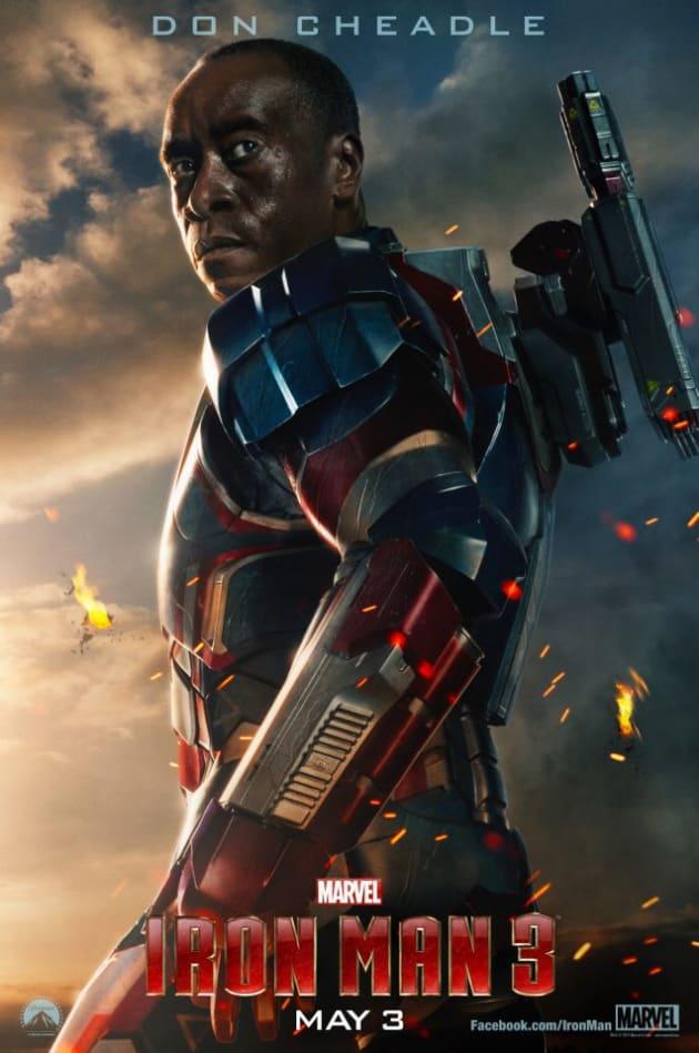 Iron Man 3 Iron Patriot Poster