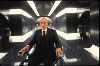 Xavier wanders the halls