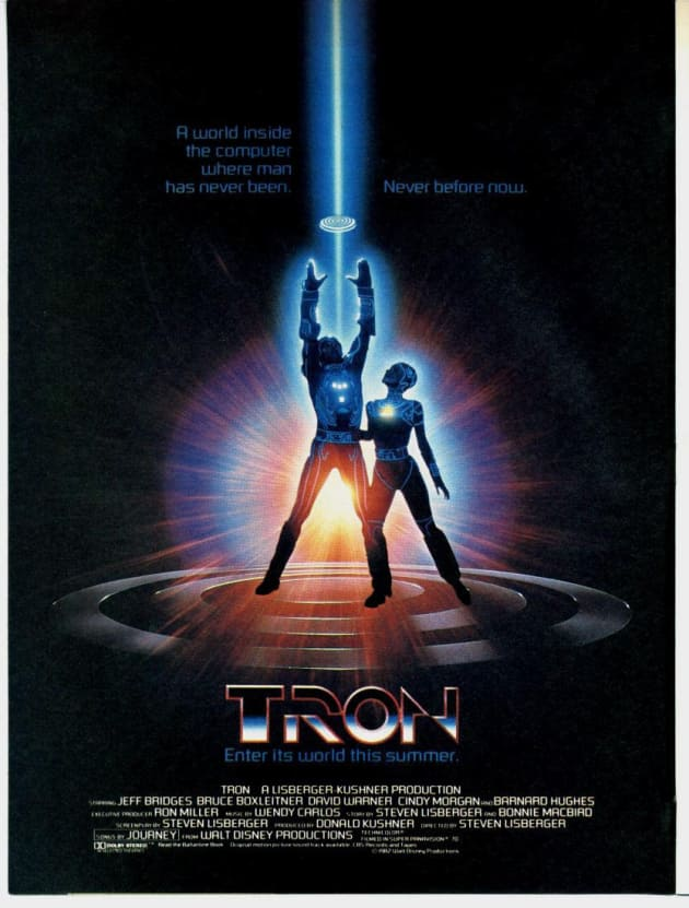 Original Tron Poster