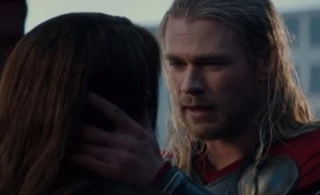 Thor The Dark World Featurette: Jane & Thor Sitting in a Tree