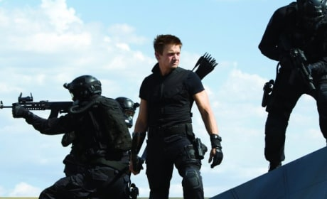 Jeremy Renner is Hawkeye