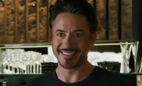 Iron Man is Robert Downey Jr.