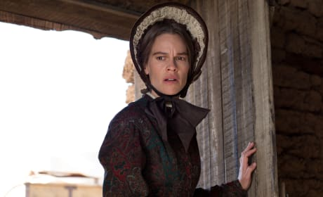 The Homesman Star Hilary Swank