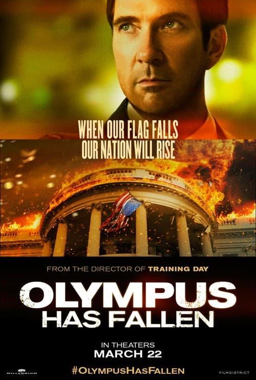 Dylan McDermott Olympus Has Fallen Poster