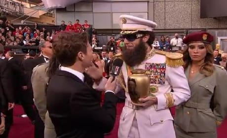 Sacha Baron Cohen's The Dictator vs. Ryan Seacrest
