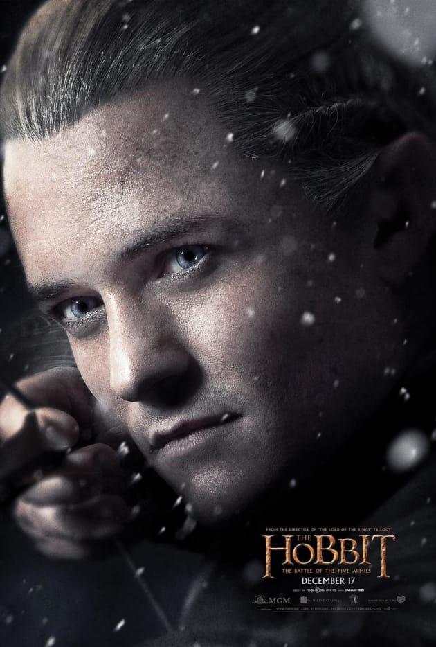 The Hobbit The Battle of the Five Armies Legolas Poster