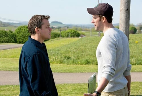 Matt Damon John Krasinski Promised Land