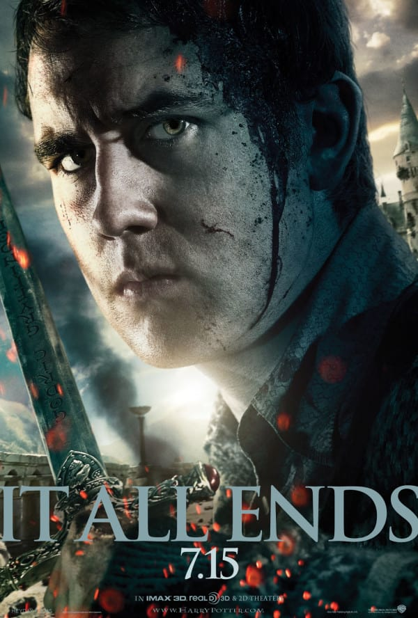 Neville Longbottom's Deathly Hallows Character Poster