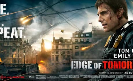 Edge of Tomorrow Tom Cruise Banner