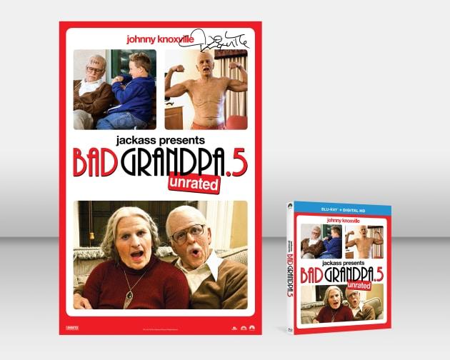 Bad Grandpa .5 Blu-Ray Prize Pack