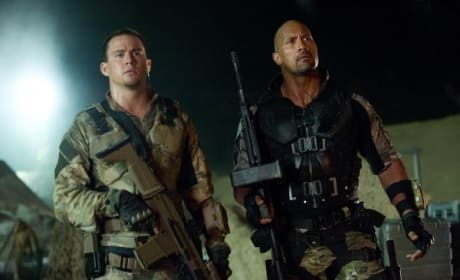 Channing Tatum Dwayne Johnson G.I. Joe Retaliation