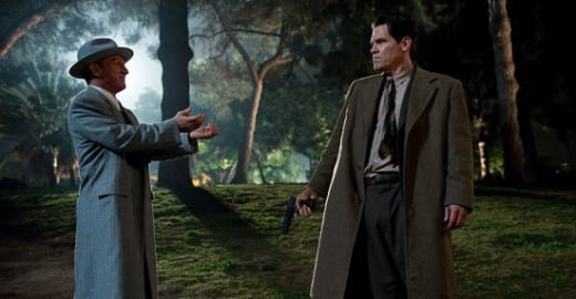 Sean Penn and Josh Brolin in Gangster Squad