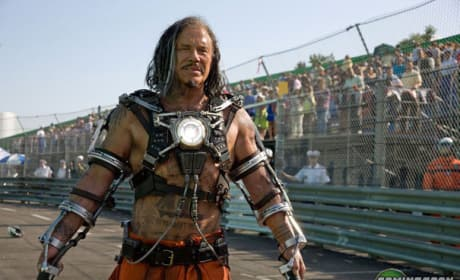 Iron Man 2 First Look: Mickey Rourke as Whiplash