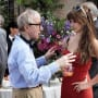 Woody Allen Directs Penelope Cruz on the To Rome with Love Set