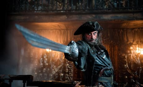 Blackbeard in Pirates of the Caribbean