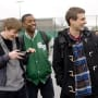 Michael B. Jordan, Alex Russell and Dane DeHaan in Chronicle