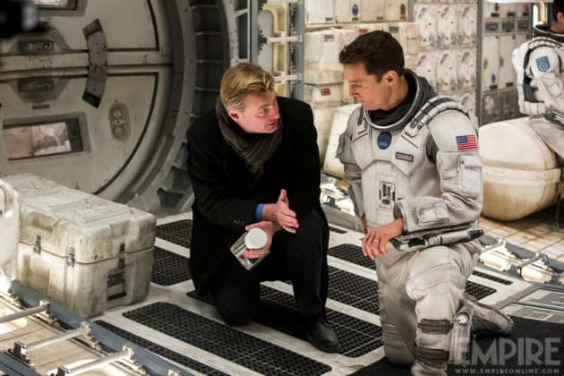 Interstellar Christopher Nolan Matthew McConaughey