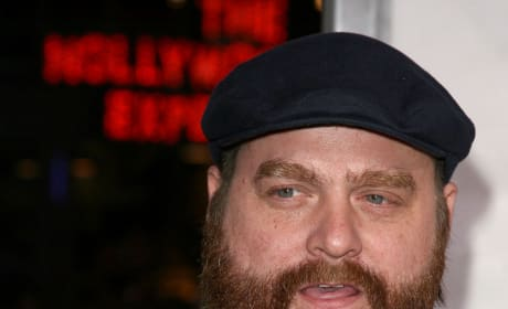 Zack Galifianakis Prepares To Hunt Ghosts?