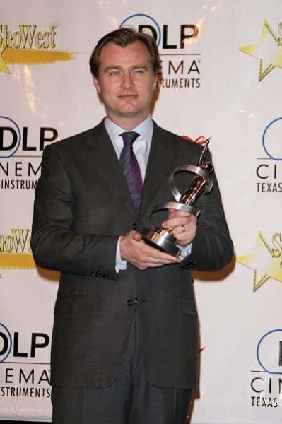 Christopher Nolan Red Carpet Picture