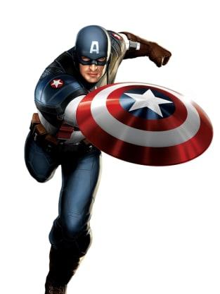 Captain America Costume Art 4