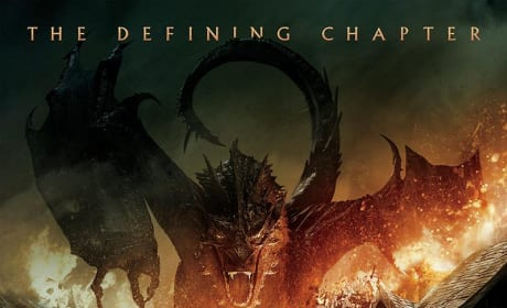 The Hobbit The Battle of the Five Armies Poster: Revealed!