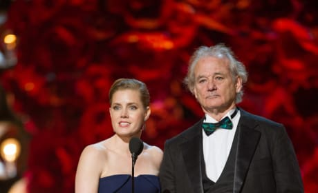 Bill Murray Amy Adams Oscars