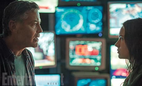 Tomorrowland First Photos: George Clooney Heads Into Tomorrow