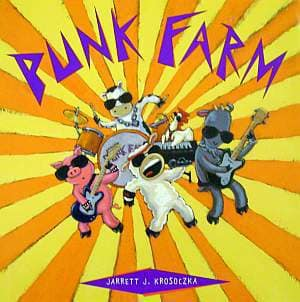 Punk Farm Children's Book