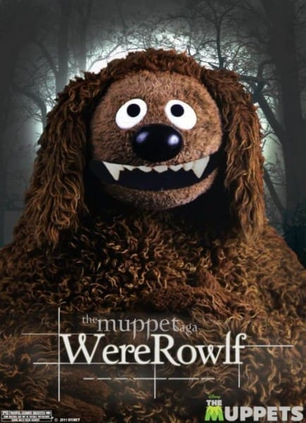 The Muppets Jacob Breaking Dawn Poster