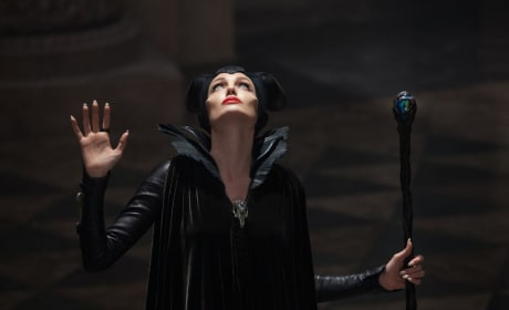 Maleficent Banner: Angelina Jolie & Sleeping Beauty's World