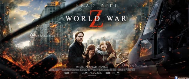 World War Z Poster: Brad Pitt