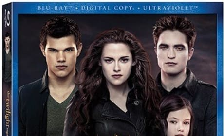 Breaking Dawn Part 2 Blu-Ray