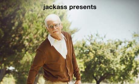 Bad Grandpa Poster: Johnny Knoxville Ages Hilariously