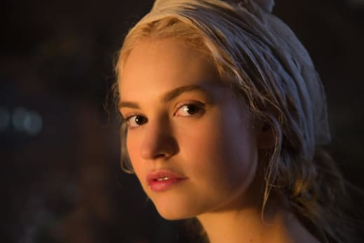 Cinderella Lily James Close Up