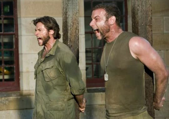 Wolverine and Sabretooth Pic