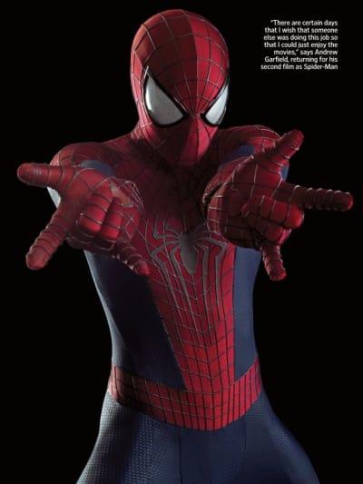The Amazing Spider-Man 2 Star Andrew Garfield